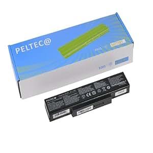 PELTEC@ Batterie premium pour ordinateur portable BTY-M61, BTY-M65, BTY-M66, BTY-M67, BTY-M68, CBPIL44 ,CBPIL48 ,CBPIL72 ,CBPIL73, M660BAT-6 et M660NBAT-6