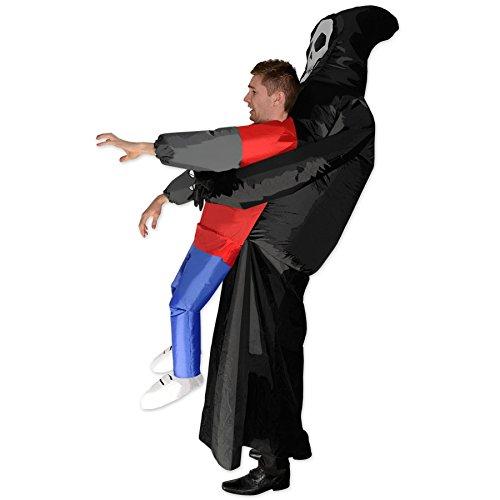 Imagen de disfraz la muerte viene a por mí hinchable para adulto alternativa