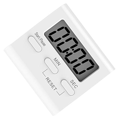 Bomcomi Blanco LCD Digital Cocina Cooking Timer meterLCD