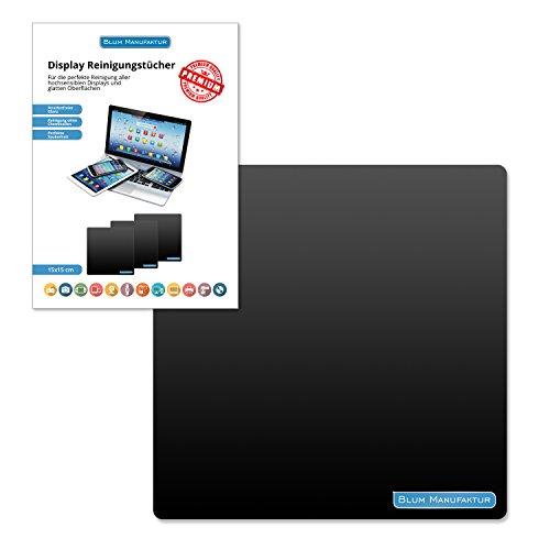 Blum - Display-Reinigungstuch 15x15 cm - für die perfekte Reinigung von Bildschirm | Brille |...