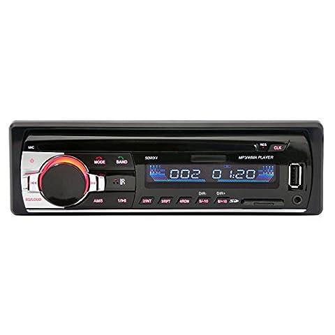 Autoradio Bluetooth Voiture Bluetooth Stéréo de Radio Lecteur FM Radio