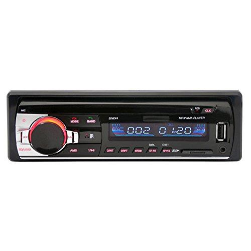 Autoradio Bluetooth Voiture Bluetooth Stéréo de Radio Lecteur FM Radio MP3 Récepteur Support téléphone avec USB / SD MMC Port