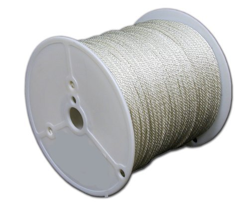 T.W . Evans Cordage 47-645 3/16-Inch by 250-Feet Solid Braid Polyester Rope by T.W . Evans Cordage Co.