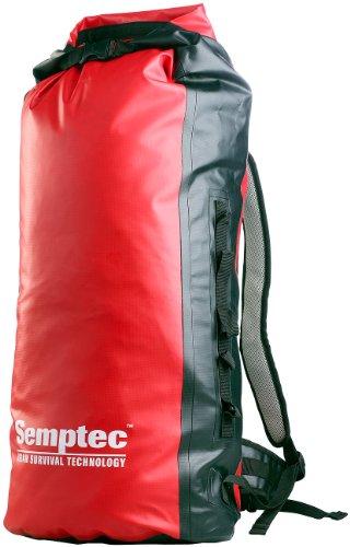 Preisvergleich Produktbild Semptec Einkaufsrucksack: Wasserdichter Trekking-Rucksack aus Lkw-Plane, ca. 50 l (Kurierrucksack)