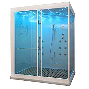 Home Deluxe | Steam Shower Cubicle | Design XL: Amazon.co