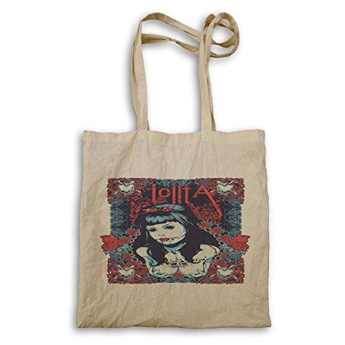 INNOGLEN Zombie La Muerte Lolita Skull bolso de mano x362r