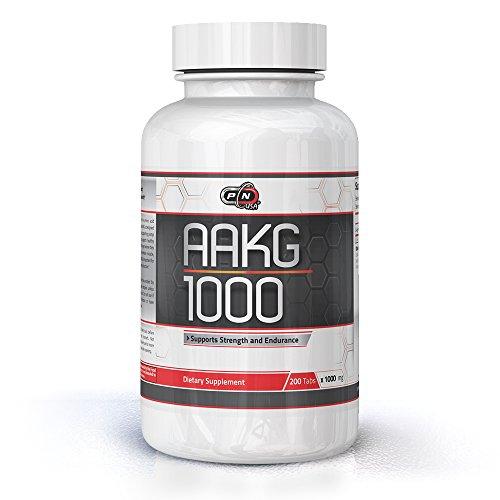 Pure Nutrition AAKG L Arginin Kapseln Hochdosiert | Pre Workout Conditionally Essential Amino Acid | Sports Nutrition Fitness Bodybuilding Weight Lifting Cross Fit Training Supplement (200 Tabletten)