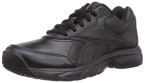 reebok-work-n-cushion-zapatos-para-caminar-de-cuero-unisex-negro-39