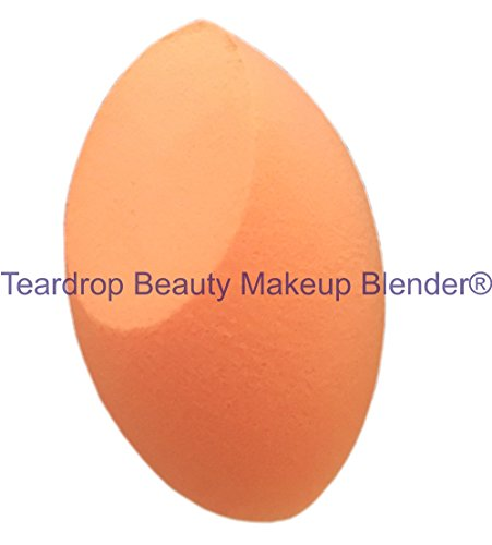 Original Teardrop Beauty Makeup Blender® FOUNDATION SPONGES WEDGE COSMETIC PUFFS (Orange Curve Only)