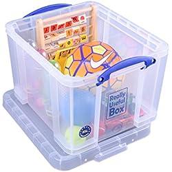 Really Useful Box 35CCB Aufbewahrungsbox für Schreibwaren, 35 L