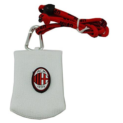 Offizielle AC MILAN univeral weiß Handytasche mit Gurt -
