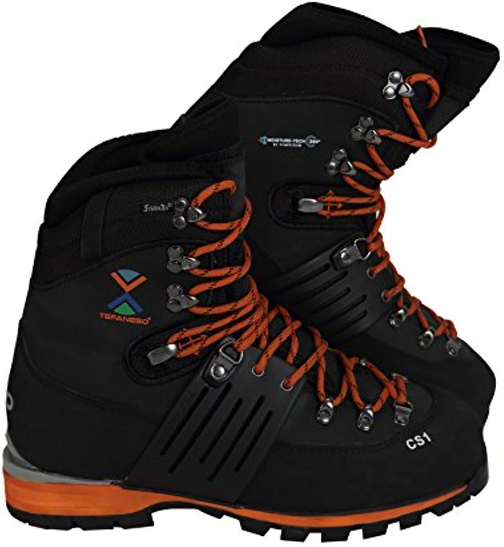 Botas de Alta Montaña TEFANESO Senderismo Bota de Trekking Impermeables Aire Libre Deportes Exterior Crampón Compatible  -