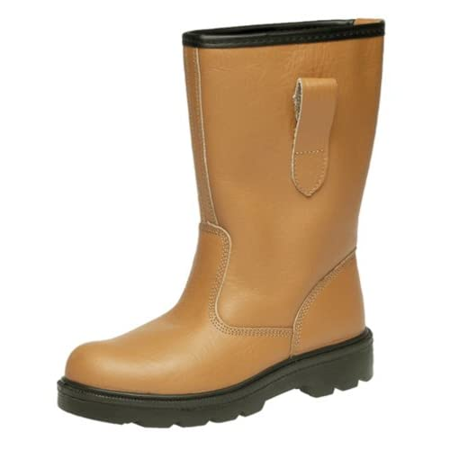 41eGZhdfsDL. SS500  - Grafters Safety Toe-Cap, Lined, Rigger Boot