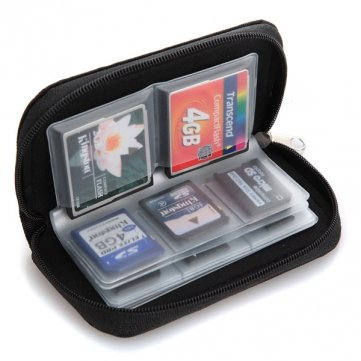 Bheema Tasche Tasche Etui für 22 Speicherkarten Micro SD-Karte XD
