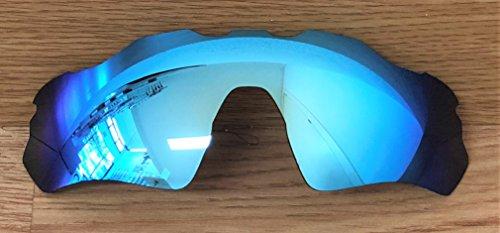 MZM Polarisierte Ersatzgläser für Oakley Radar Ev Path ( wählen Sie Die Farbe) (Ice Blue)