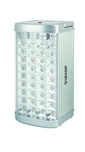 Velamp IR117LED Lampe LED Portative Rechargeable Finition Alu 2,4 W, anti black-out
