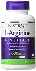 Natrol L-arginine Tablets, 3000 Mg, 90-count