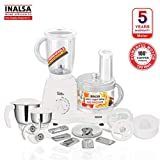 Inalsa Food Processor Wonder Maxie Plus V2 700 - Watt with Blender Jar
