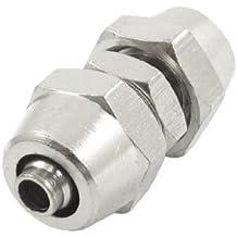 3 mm x 4 mm latón cromado tubo de aire acoplador suspensión neumática ...