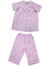 MagiDeal 1 Set Ropa para Pacientes Pijamas Camisas de Enfermo de Hospital Ligera Cómodo