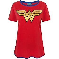 Wonder Woman Metallic Logo Women's T-Shirt (M)