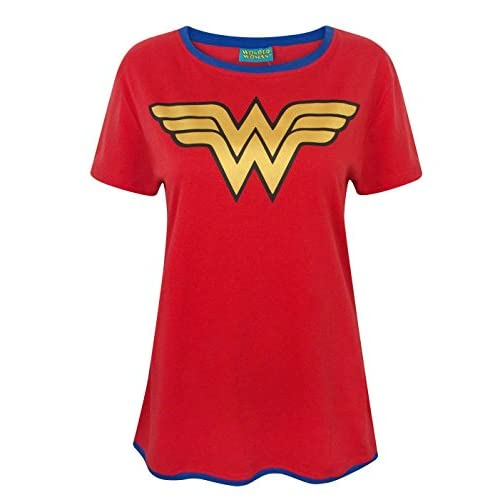 Wonder Woman Metallic Logo Women's T-Shirt 4