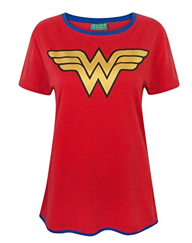 Wonder Woman Metallic Logo Women's T-Shirt (XS)