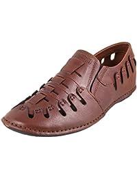 Metro Men Leather Flat Shoes