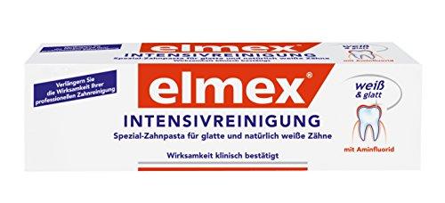 Mundwasser Professionelle (elmex INTENSIVREINIGUNG Zahnpasta, 6er Pack (6 x 50 ml))