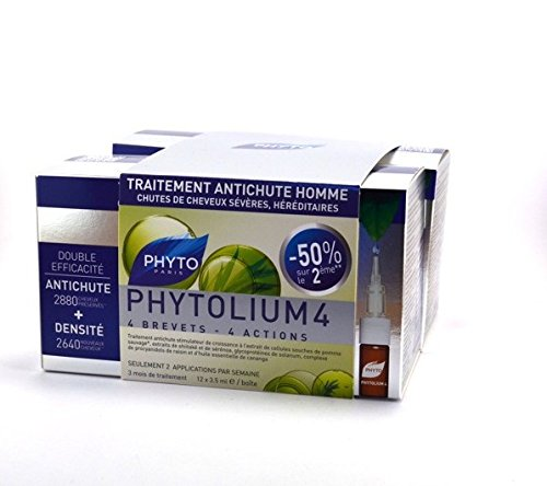 Phyto - Phyto Phytolium 4 Traitement Antichute Homme 24 x 3,5ml