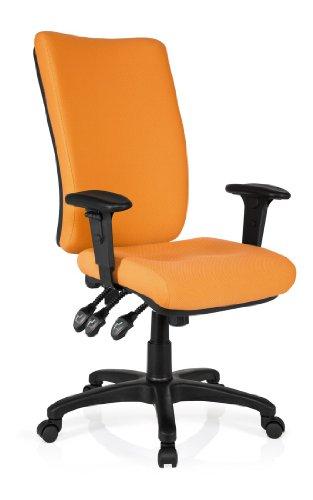 hjh-office-702130-burostuhl-drehstuhl-zenit-high-stoff-orange-extrem-dicke-feste-polsterung-sehr-gut