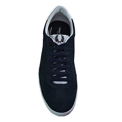 Fred Perry Mens Umpire Suede Trainer Navy