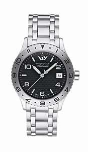 Philip Watch Amiral -R8223200025 - Homme - Automatique Analogique - Dateur -Bracelet Acier