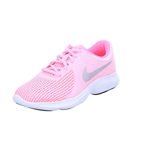 Nike Mädchen Revolution 4 (GS) Rosa Mesh Laufschuhe 38.5