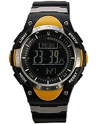 Sunroad fr828b Sports reloj con Digital Pesca barómetro termómetro previsión meteorológica