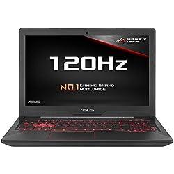 ASUS FX503VM-EN184T 15.6-inch Full HD 120 Hz Screen Gaming Laptop (Black) - (Intel i5-7300HQ, 8 GB RAM, 256 GB SSD, Dedicated Nvidia GTX 1060 Graphics, Windows 10)
