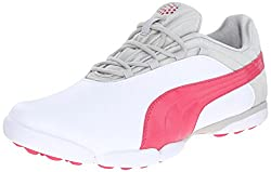 PUMA Women s Sunnylite V2 Golf Shoe White/Rose Red/Gray 9 B(M) US