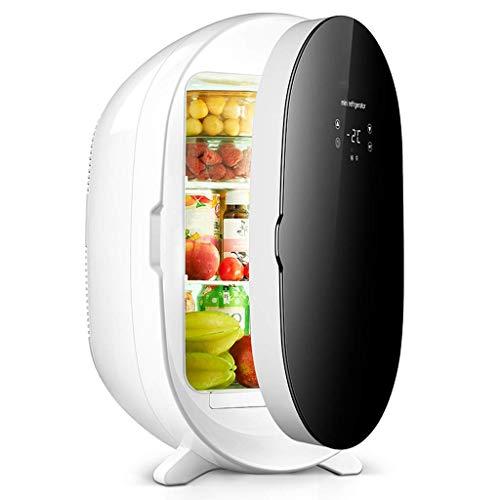 H&RB-cooler Elektrischer Mini-Kühlschrankkühler und -wärmer (20 Liter / 18 Dosen): Tragbares thermoelektrisches Wechselstrom/Gleichstrom-System Digitalanzeige-Version für Auto oder zu Hause