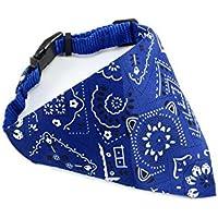 Pañuelo de correa ajustable perro de mascota gato Bandana Collar para perros cachorro mascota collares productos bufandas mascota accesorios pequeños