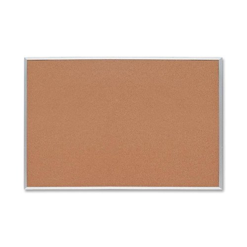 Sparco Cork Boards - 48 Height x 72 Width - Cork Surface - Aluminum Frame by Sparco