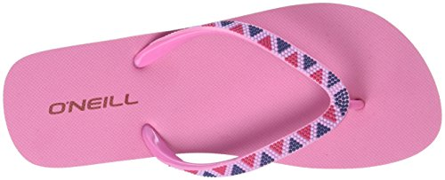 O'Neill Fw Printed Strap, Tongs femme Pink (Pink Allover Print)