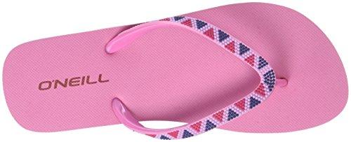 O'Neill FW Printed Strap Flipflop, Scarpe da Spiaggia e Piscina Donna Pink (Pink Allover Print)