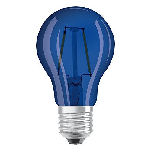 Osram - 4058075816008 - Lot de 6 Ampoules LED - Couleur Bleue - 4W Equivalent 15W - Culot E27