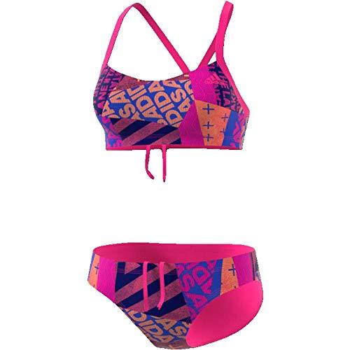 Adidas per+ 2PC AOP Bikini, Mujer, Rosa Rosimp, 32