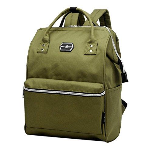 F@Personalizzato retrò grandi uomini all'aperto viaggio tela borse a tracolla borsa / moda , blue army green