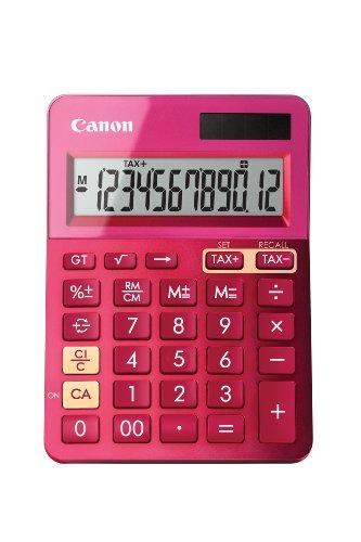 Canon LS-123K Calculatrice de Bureau - Rose
