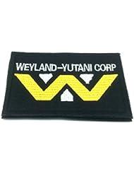 Weyland Yutani Corporation bordado parche para Airsoft y Paintball