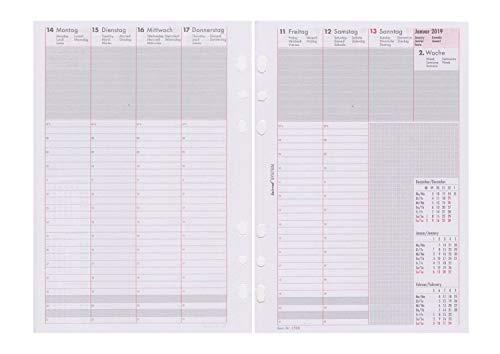bind B250819 Kalendereinlage (Kalender Seite Weit)