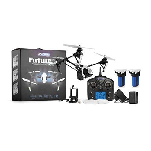 CHOULI Wltoys Q333 Drone Deformación Antena de Cuatro Ejes Avión Drone FPV Helicóptero Blanco