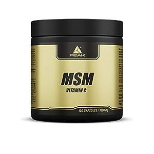 PEAK MSM (Methylsulfonylmethan) – 120 Kapseln à 1000mg
